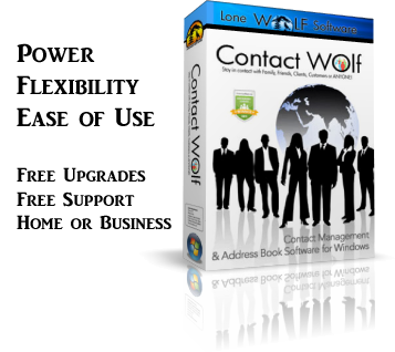 Contact Wolf Phone Book Software Product Box